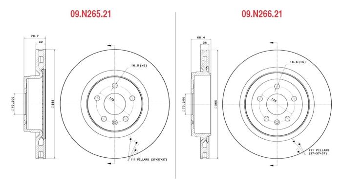 Тормозные диски поставщика автозапчастей Brembo для Tesla