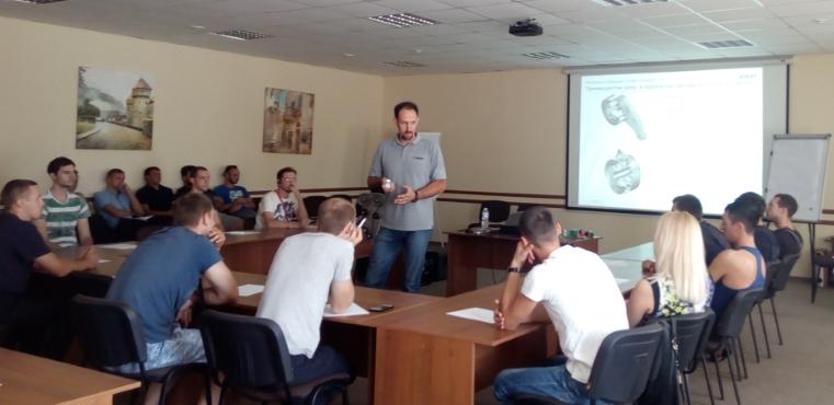 технический семинар, запчасти